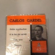 Discos de vinilo: CARLOS GARDEL. Lote 176062954