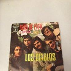 Discos de vinilo: LOS DIABLOS. Lote 176069062