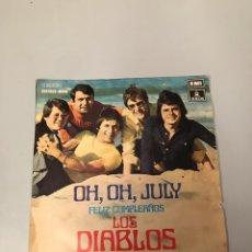 Discos de vinilo: LOS DIABLOS. Lote 176069287