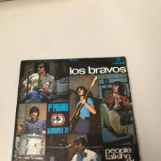 Discos de vinilo: LOS BRAVOS. Lote 176069523