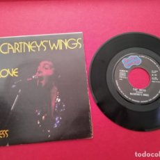 Discos de vinilo: MC CARTNEYS WINGS MY LOVE THE MESS PATHE MARCONI EMI NC CARTBET . Lote 176072834