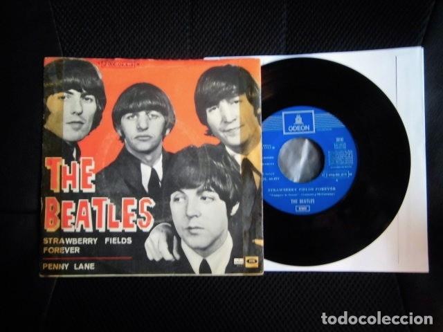 BEATLES SINGLE EMI ODEON ESPAÑA REFERENCIA 1J VINILO SIN USO MARAVILLA (Música - Discos - Singles Vinilo - Pop - Rock Internacional de los 50 y 60)