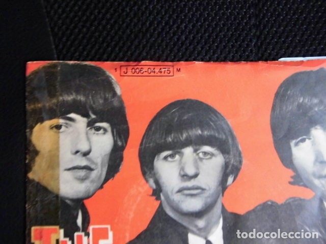 Discos de vinilo: BEATLES SINGLE EMI ODEON ESPAÑA REFERENCIA 1J VINILO SIN USO MARAVILLA - Foto 4 - 176073333