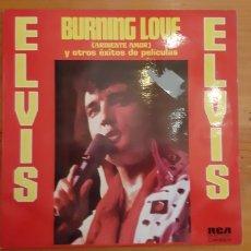 Discos de vinilo: LP ELVIS. BURNING LOVE.. Lote 176073992