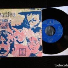 Discos de vinilo: BEATLES SINGLE ORIGINAL EMI ODEON ESPAÑA VINILO SIN USO MARAVILLA. Lote 176077284