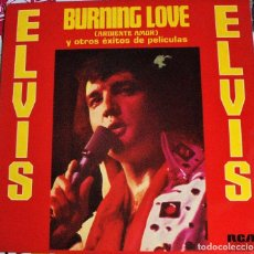 Discos de vinilo: ELVIS PRESLEY ~ BURNING LOVE AND HITS FROM HIS MOVIES VOL.2 - ESPAÑA LP. Lote 176078703