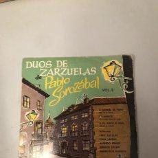 Discos de vinilo: PABLO SORAZABAL. Lote 176084254