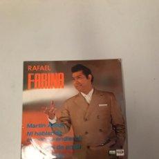 Discos de vinilo: RAFAEL FARINA. Lote 176085110