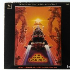 Discos de vinilo: MAD MAX: THE ROAD WARRIOR (1982) BRIAN MAY. Lote 176086323