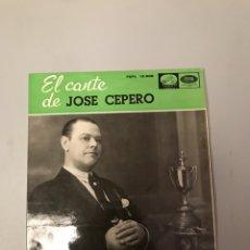 Discos de vinilo: JOSÉ CEPERO. Lote 176090578