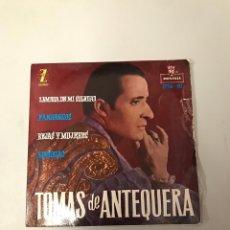 Discos de vinilo: TOMÁS DE ANTEQUERA. Lote 176090622