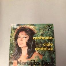 Discos de vinilo: MARUJITA DÍAZ. Lote 176091135