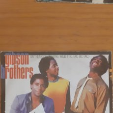 Discos de vinilo: GIPSON BROTHERS. MY HEART'S BEATING WILD.. Lote 176101055