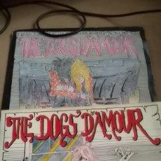 Discos de vinilo: DOGS D,AMOUR--2 SINGLES.... EMPTY WORLD,,ETC. Lote 176105600