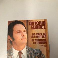 Discos de vinilo: ANTONIO SUÁREZ. Lote 176118752
