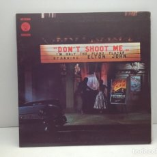 Discos de vinilo: LP - VINILO - DISCO - DON'T SHOOT ME I'M ONLY THE PIANO PLAYER STARRING - ELTON JOHN . Lote 176119067