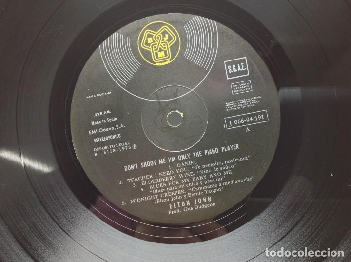Discos de vinilo: LP - VINILO - DISCO - DON'T SHOOT ME I'M ONLY THE PIANO PLAYER STARRING - ELTON JOHN - Foto 5 - 176119067