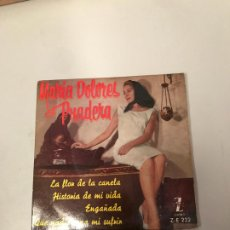 Discos de vinilo: MARÍA DOLORES PRADERA. Lote 176119583