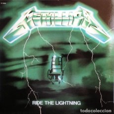 Discos de vinilo: METALLICA ?– RIDE THE LIGHTNING -LP-. Lote 218138550
