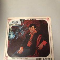 Discos de vinilo: LUIS AGUILE. Lote 176130292