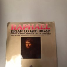 Discos de vinilo: RAPHAEL. Lote 176130433