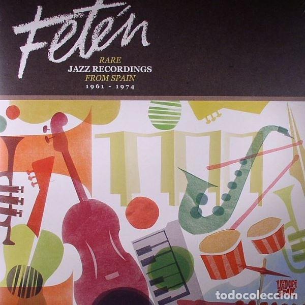 VARIOUS - FETÉN. RARE JAZZ RECORDINGS FROM SPAIN 1961-1974 -2XLP (Música - Discos - LP Vinilo - Jazz, Jazz-Rock, Blues y R&B)