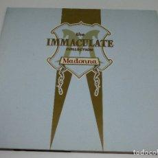Discos de vinilo: LP DOBLE - MADONNA - THE INMACULATE COLLECTION - CARPETA DOBLE CON ENCARTES - 1990 GATEFOLD. Lote 176141469