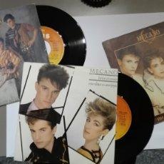 Discos de vinilo: DISCOS VINILO SINGLES AÑOS 80 MECANO. Lote 175968330