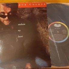 Discos de vinilo: JOE COCKER. UNCHAIN MY HEART.. Lote 176143507