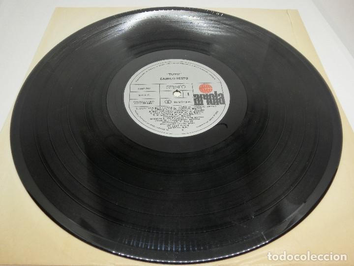 Discos de vinilo: LP - CAMILO SESTO - TUYO - 1985 - Foto 5 - 176144053