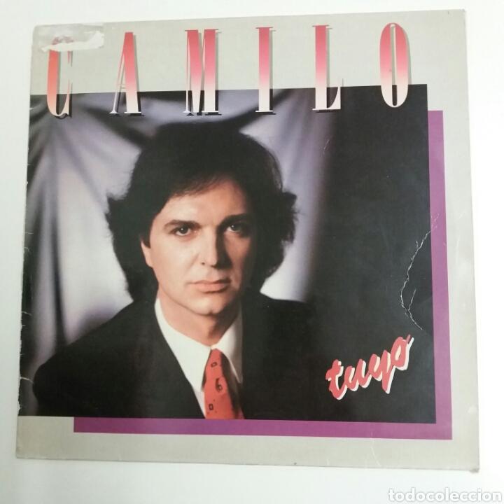 LP - CAMILO SESTO - TUYO - 1985 (Música - Discos - LP Vinilo - Pop - Rock - New Wave Internacional de los 80)
