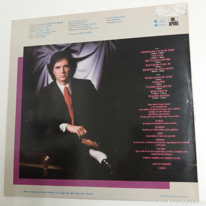 Discos de vinilo: LP - CAMILO SESTO - TUYO - 1985 - Foto 2 - 176144053