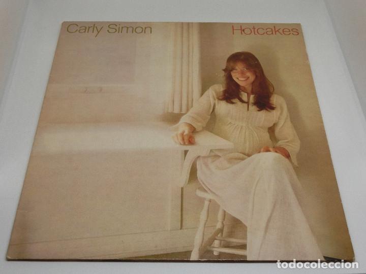 LP - CARLY SIMON - HOTCAKES - GATEFOLD - CARPETA DOBLE - FUNDA CON LETRAS - 1974 (Música - Discos - LP Vinilo - Pop - Rock - New Wave Internacional de los 80)