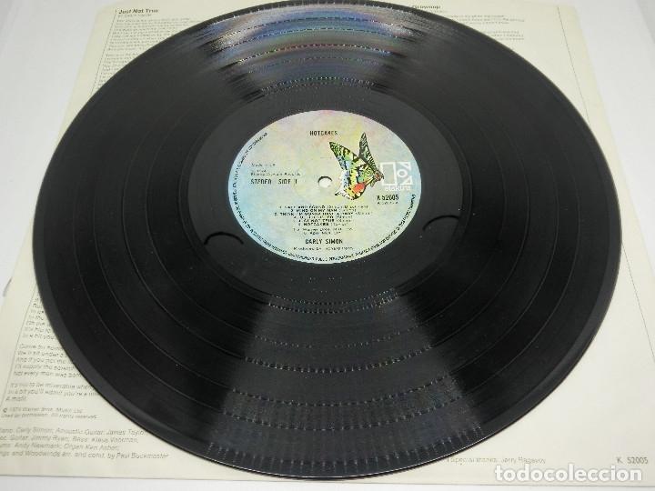 Discos de vinilo: LP - CARLY SIMON - HOTCAKES - GATEFOLD - CARPETA DOBLE - FUNDA CON LETRAS - 1974 - Foto 8 - 176144430