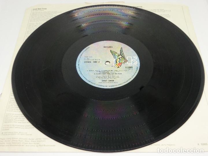 Discos de vinilo: LP - CARLY SIMON - HOTCAKES - GATEFOLD - CARPETA DOBLE - FUNDA CON LETRAS - 1974 - Foto 10 - 176144430