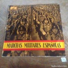 Discos de vinilo: MARCHAS MILITARES ESPAÑOLAS. Lote 176147072