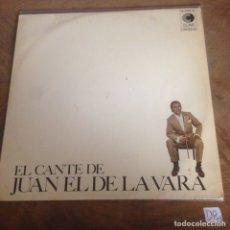 Discos de vinilo: JUAN EL DE LA VARA. Lote 176149780