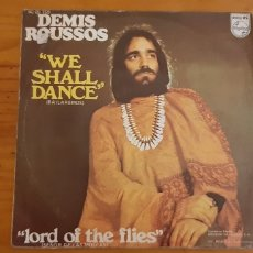 Discos de vinilo: SINGLE DEMIS ROUSSOS. WE SHALL DANCE.. Lote 176153444