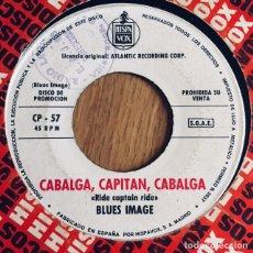 Discos de vinilo: BLUES IMAGE RIDE CAPTAIN RIDE SINGLE PROMOCIONAL ESPAÑA . Lote 176154884