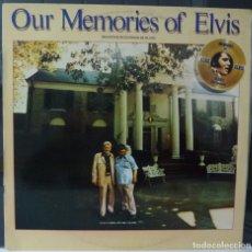 Discos de vinilo: ELVIS PRESLEY // OUR MEMORIES OF ELVIS// 1979 // (VG VG). LP. Lote 176158775
