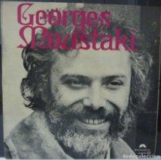 Discos de vinilo: GEORGES MOUSTAKI// MOUSTAKI // 1976 (G VG). LP. Lote 176160087