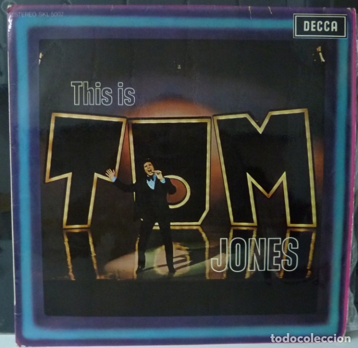 TOM JONES // THIS IS TOM JONES // 1969 // (VG VG). LP (Música - Discos - LP Vinilo - Cantautores Extranjeros)