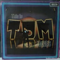 Discos de vinilo: TOM JONES // THIS IS TOM JONES // 1969 // (VG VG). LP. Lote 176160918