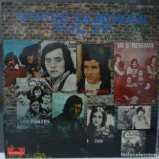Discos de vinilo: VOCES FAMOSAS// VOL IV//POLYDOR//CONTROL// LA 5ª RESERVA//1974// (VG VG). LP. Lote 176161415