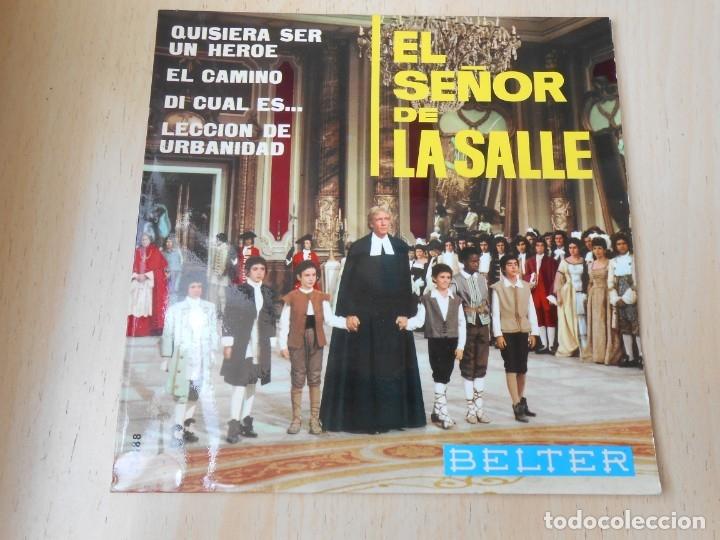 EL SEÑOR DE LA SALLE - ESCOLANIA DEL VALLE DE LOS CAÍDOS -, EP, LECCIÓN DE URBANIDAD + 3, AÑO 1966 (Música - Discos de Vinilo - EPs - Bandas Sonoras y Actores)