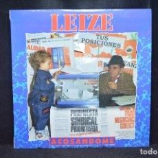 Discos de vinilo: LEIZE - ACOSANDOME - LP. Lote 176173992