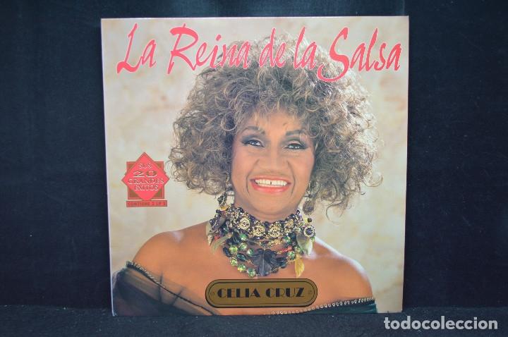 CELIA CRUZ - LA REINA DE LA SALSA - LP (Música - Discos - LP Vinilo - Grupos y Solistas de latinoamérica)