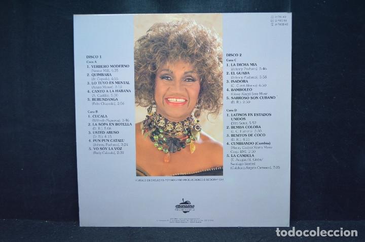 Discos de vinilo: CELIA CRUZ - LA REINA DE LA SALSA - LP - Foto 2 - 176175960