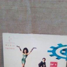Discos de vinilo: DISCO CC MUSIC FACTORY. Lote 176176729
