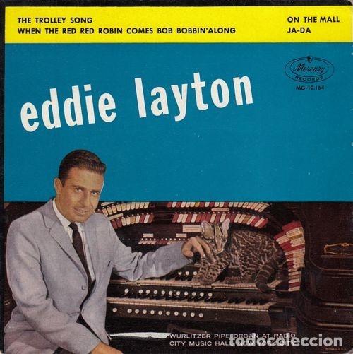 EDDIE LAYTON - WURLITZER PIPE ORGAN AT RADIO CITY MUSIC HALL NUEVA YORK - EP ESPAÑOL DE VINILO # segunda mano